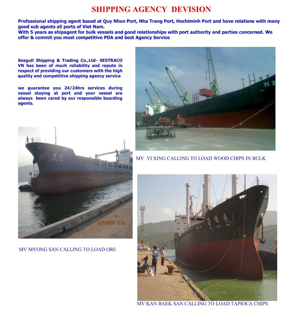 Shipping agency - SESTRACO VN